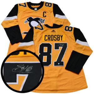Signed Sidney Crosby Sports Jersey