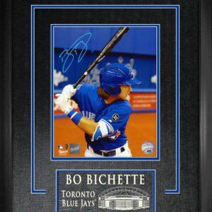 Bo Bichette Framed Signed 8x10