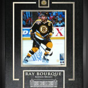 Ray Bourque Signed 8x10 Framed