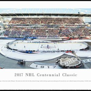 2017 Centennial Game Plaque - Leafs vs. Red Wings