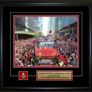 Toronto Raptors 8x10 Framed Championship Parade