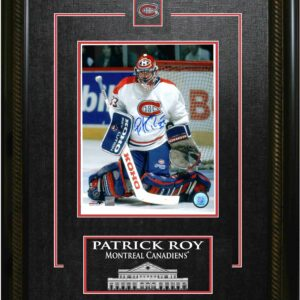 Patrick Roy Signed 8x10 Framed