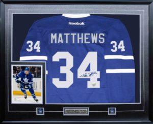 Autographed Sports Memorabilia Matthews Jersey & Photo