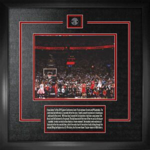 Kawhi Leonard 8x10 framed the shot
